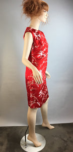 Vintage Cheongsam Shift Dress// 60s Vintage Chinese Silk Dress// 60s Chinese Dress (F1)