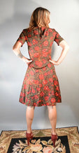60s Wiggle Dress// High Waist 60s Dress// Adorable 60s Dress (F1)