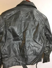 Vintage leather motorcycle jacket// Womens Large Vintage Motorcycle Jacket// Vintage 70s Leather Jacket (F1)