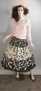 50s Circle Skirt// Sequin 50s Skirt// Mad Men Skirt (F1)
