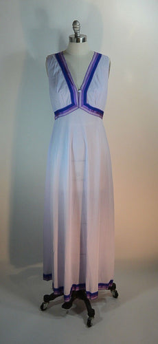 Emilio Pucci Nightgown// 60s Groovy Lingerie// Formfit Rogers Nighty (F1)