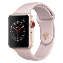Apple watch - Series 3 42mm case Gold Aluminum Sport Band Pink Sand