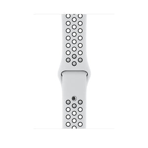 Apple watch - Series 3 42mm case Silver Aluminum Case Nike sport Band Pure Platinum/Black