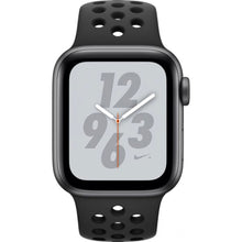 Apple watch - Series 4 44mm Space Grey Aluminum Case Anthracite/Black Nike Sport Band