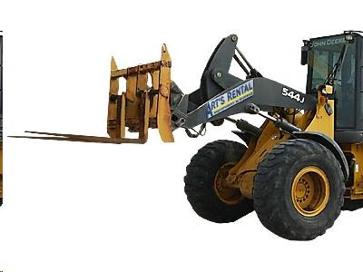 Fork Attachment for John Deere 544 Wheel Loader