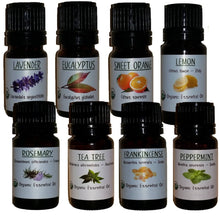 The Aromatherapy Staple Kit: The Complete Certified Organic Essential Oils Collection