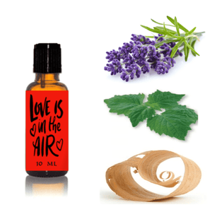 Love Is In The Air: Luxury Aphrodisiac Essential Oils Blend, Organic, Aromatherapy Certified