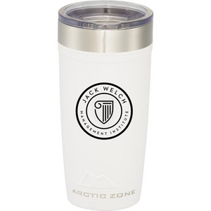 JWMI Arctic Zone Titan Thermal HP Copper Tumbler 20oz WHITE