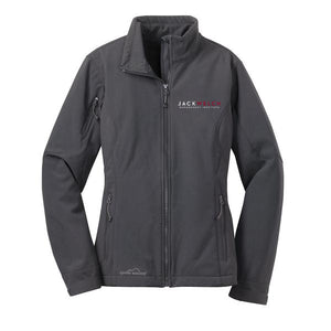 JWMI Eddie Bauer - Ladies Soft Shell Jacket Grey Steel