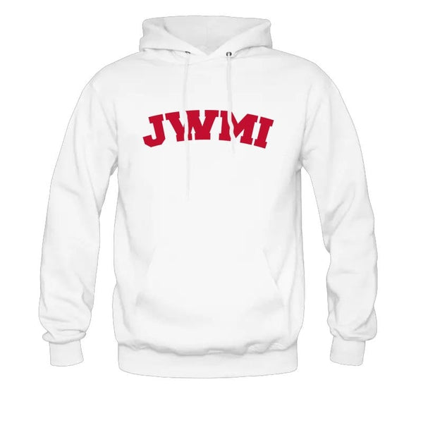 JWMI Champion 12 oz. Pullover Hood WHITE
