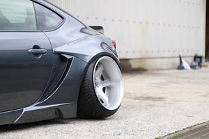 Version 2 - 16 Piece Wide Body Kit (2017+ GT86/BRZ)