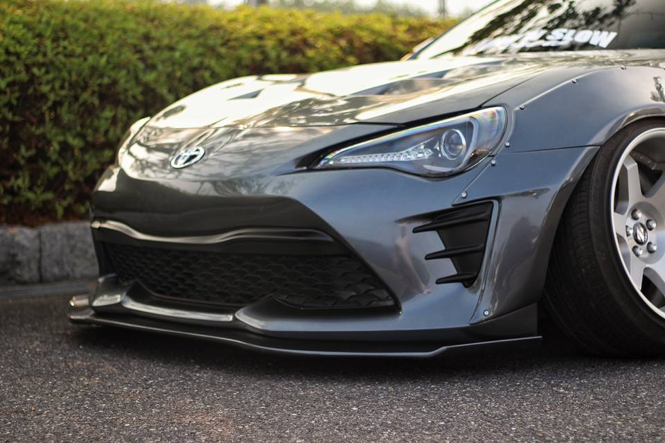 Version 2 - 16 Piece Wide Body Kit (2017+ GT86/BRZ) – RallyBacker NA