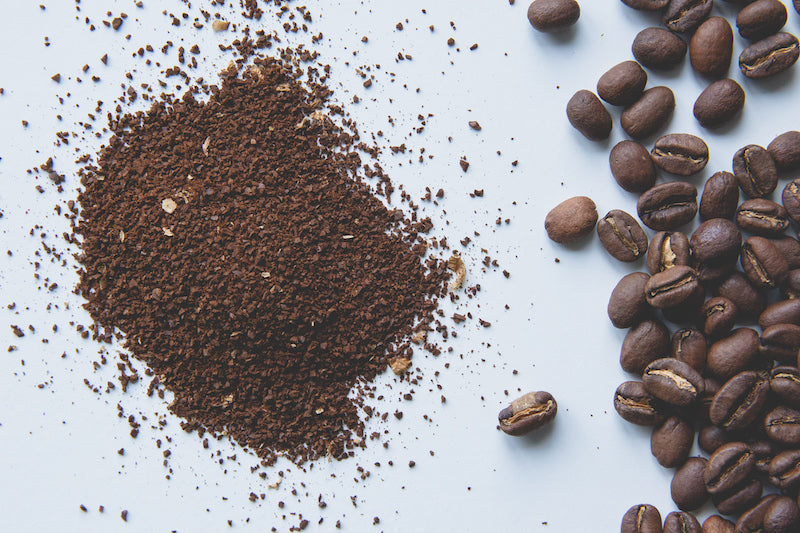 Wholebean and ground coffee