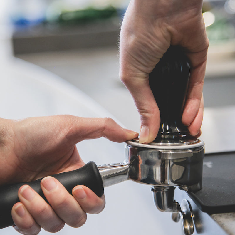 What is espresso? Tamping