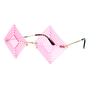 Diamond Die Cut Sunglasses