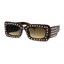 Pearls Studded Sunglasses