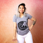 TOSS A COIN Women/Junior Fitted T-Shirt