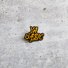YA BASIC lapel pin