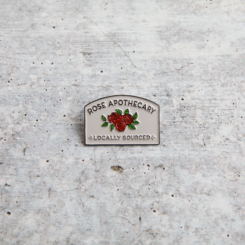 ROSE APOTHECARY Lapel Pin