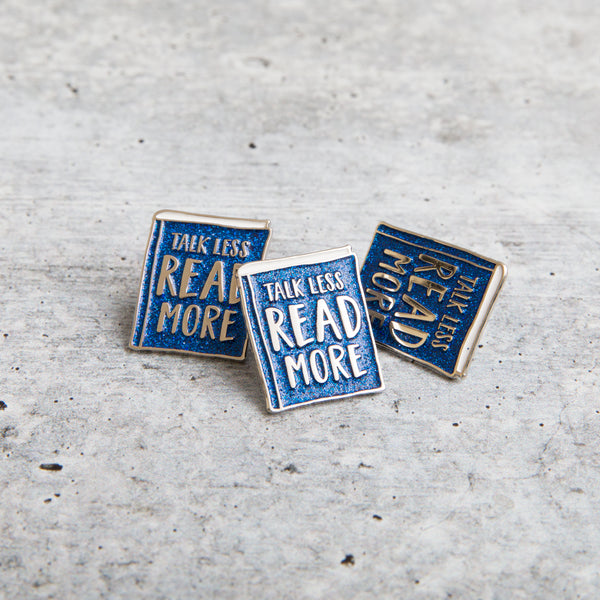 TALK LESS lapel pin