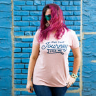 LOVE THAT JOURNEY Women/Junior Fitted T-Shirt