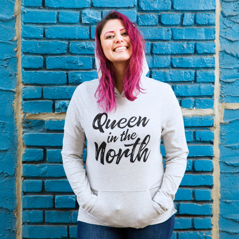 THE NORTHERN QUEEN Eco-Jersey™ Hooded Pullover