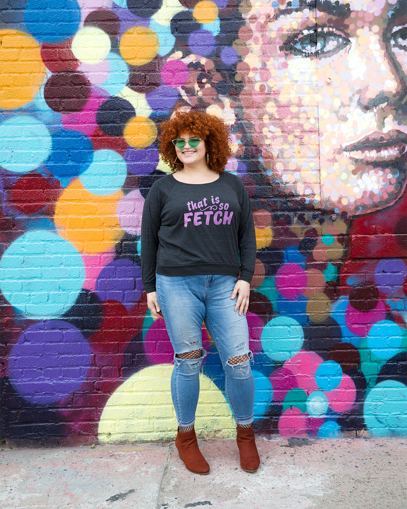 SO FETCH Light Weight Raglan Pullover