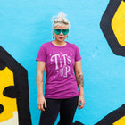 TITS UP Women/Junior Fitted T-Shirt