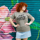 EAT GLASS Unisex T-shirt