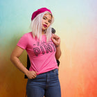WEDNESDAYS WE WEAR PINK Women/Junior Fitted T-Shirt