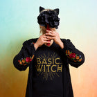 BASIC WITCH Women/Junior Fitted T-Shirt