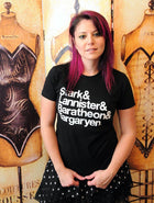 GoT HOUSES AMPERSAND Women/Junior Fitted T-Shirt