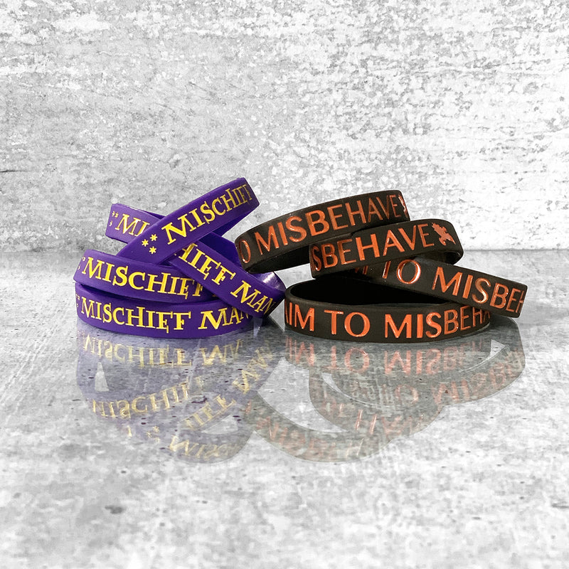 FULL OF MISCHIEF Silicone Bracelets