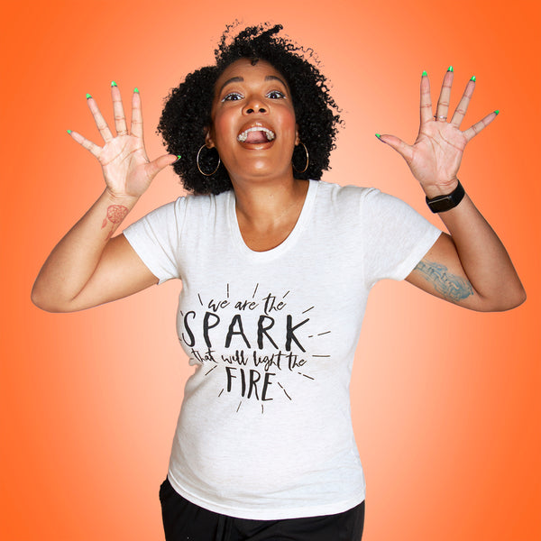 THE SPARK Women/Junior Fitted T-Shirt