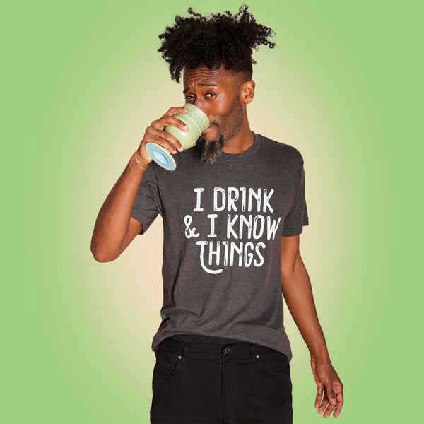 DRINK & KNOW Unisex T-shirt
