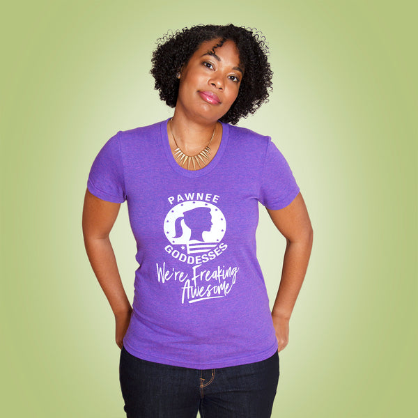 PARKS GODDESS Women/Junior Fitted T-Shirt