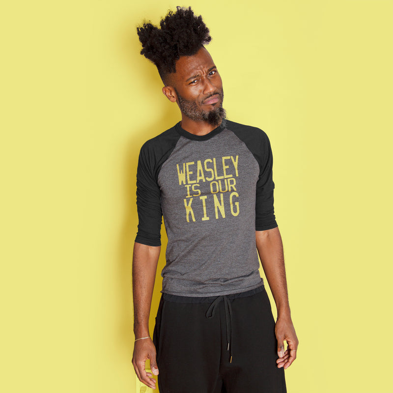 GEEKY KING Unisex 3/4 Sleeve Baseball Shirt