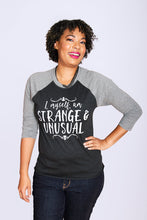 STRANGE & UNUSUAL Unisex 3/4 Sleeve Baseball Shirt