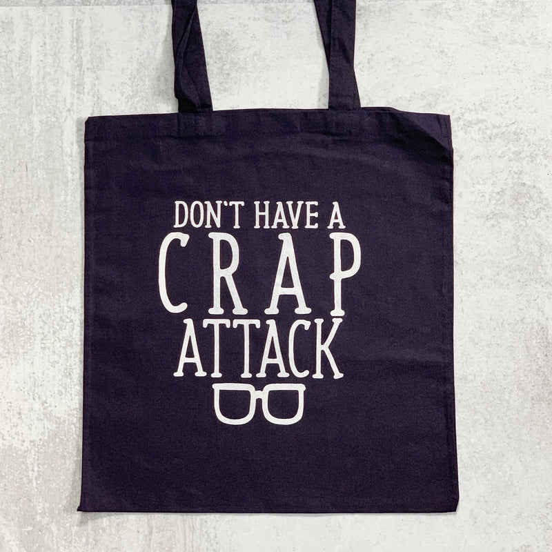 CRAP ATTACK tote bag