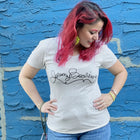The i Broke Me Women/Junior Fitted T-Shirt