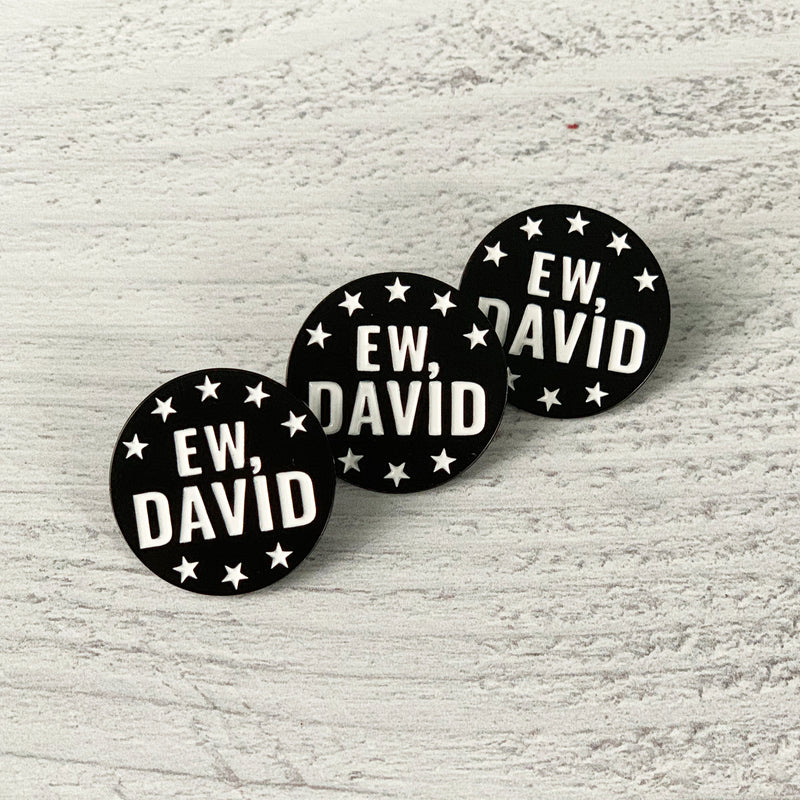 EW, DAVID Lapel Pin