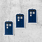 WHOVIAN Small Vinyl Stickers