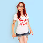 QUEEN IN THE NORTH Women/Junior Fitted T-Shirt