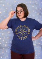 FURTHER FASTER Unisex T-shirt