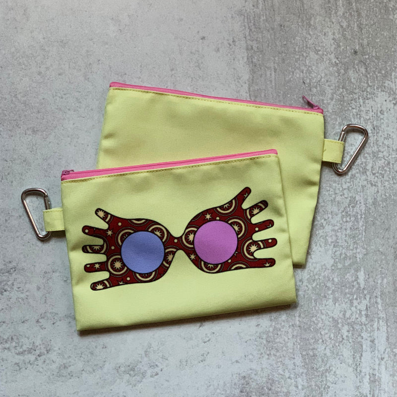LUNA GLASSES Cosmetic Bag
