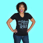 NOTHING LIKE YOUR SMILE Women/Junior Fitted T-Shirt