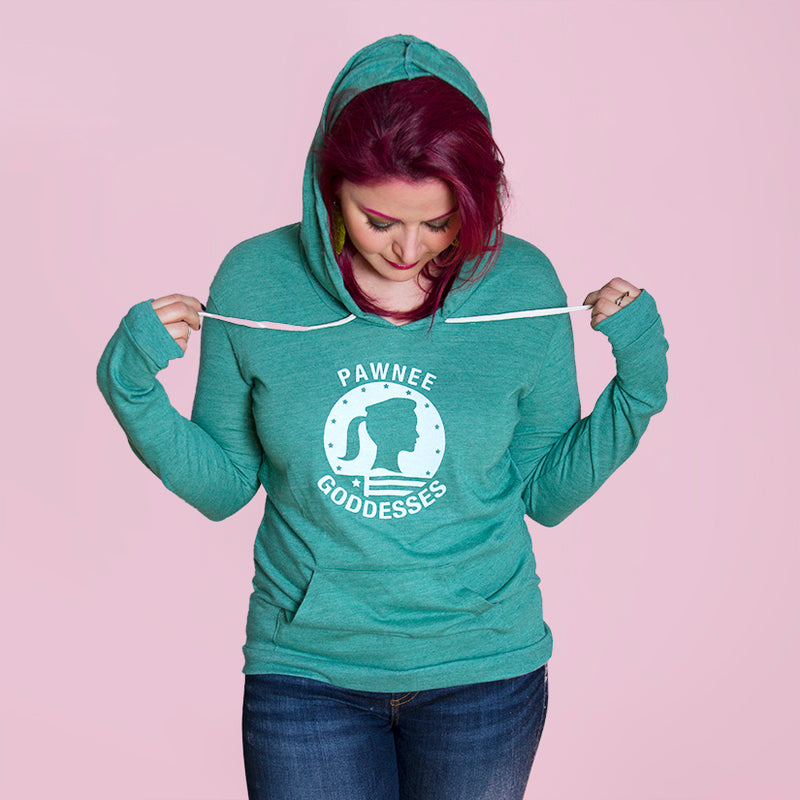 PARKS GODDESS, Alternative Apparel - Women's Eco-Jersey™ Classic Hooded Pullover T-Shirt