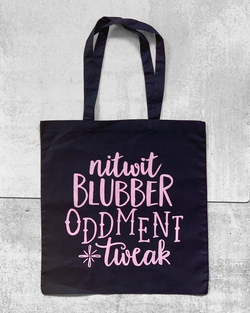 NITWIT BLUBBER Tote Bag