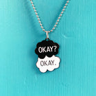 SECONDS NECKLACE SALE -- OKAY?  OKAY.