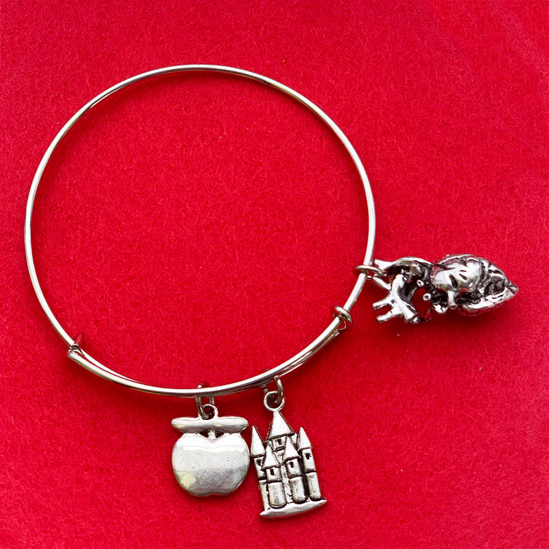 SECONDS SALE -- OUAT HEART Charm Bracelet